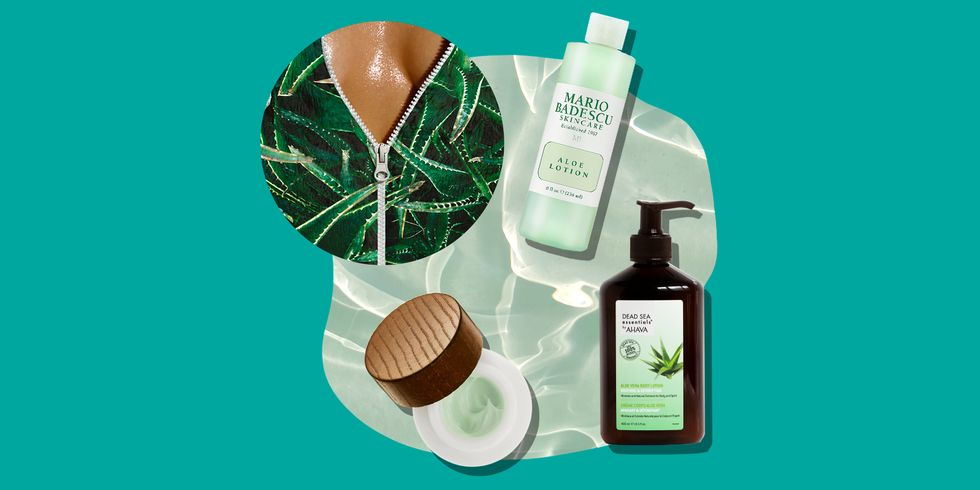 BEST PRODUCTS: 12 ALOE VERA LOTIONS TO HELP COOL DOWN SUNBURNT SKIN