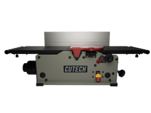 "Load image into Gallery viewer, 8"" Spiral Cutterhead Benchtop Jointer (Black Table) - CUTECH 40180HB"