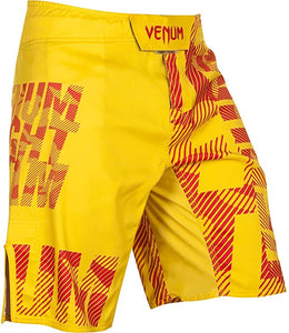 FIGHT SHORT VENUM SPEED CAMO URBAN YELLOW