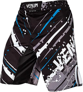 FIGHT SHORT VENUM PIXEL BLACK GREY