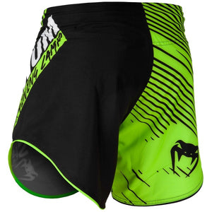 FIGHTSHORT COURT VENUM TRAINING CAMP 2.0 - NOIR/JAUNE FLUO