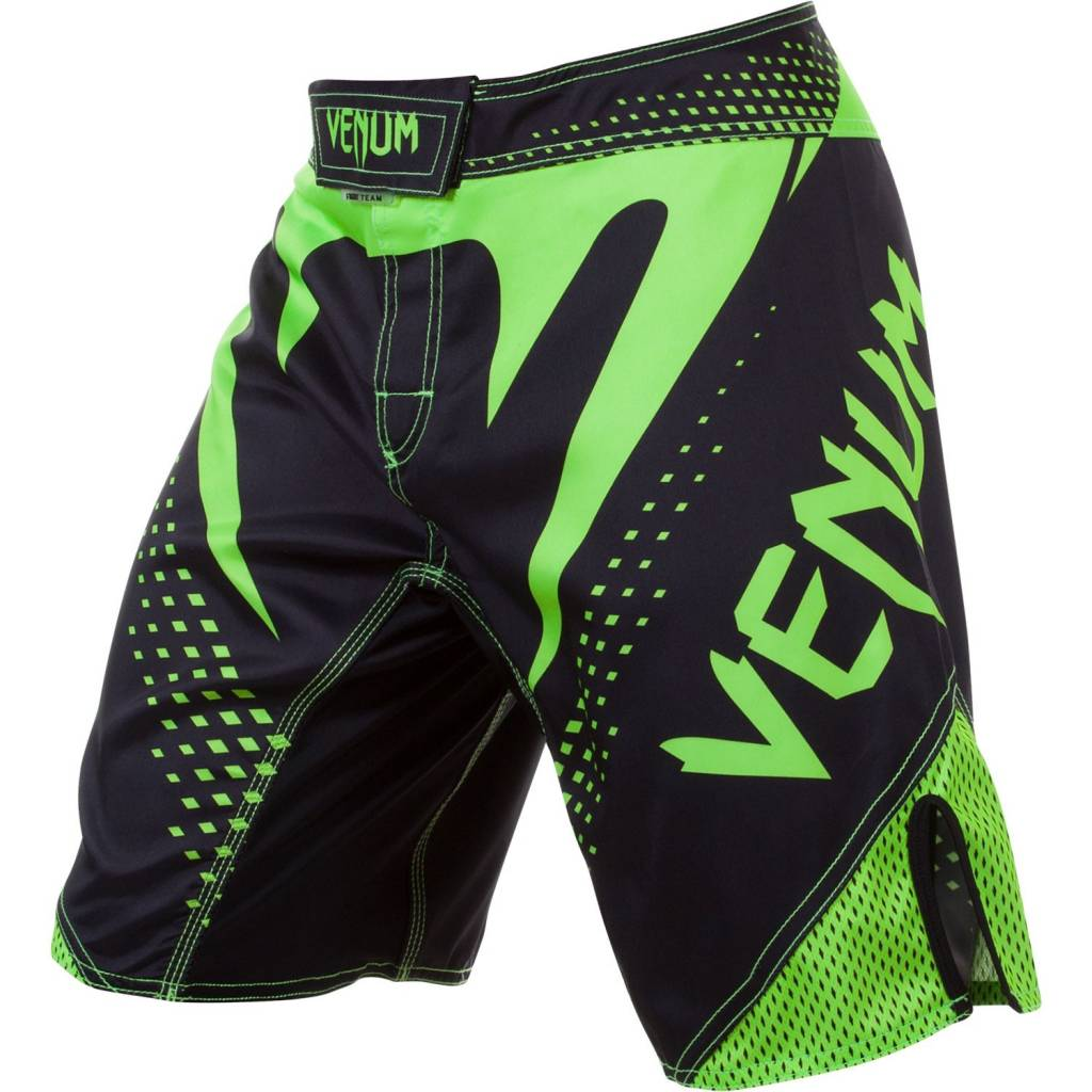 FIGHT SHORT VENUM HURRICANE NOIR/JAUNE