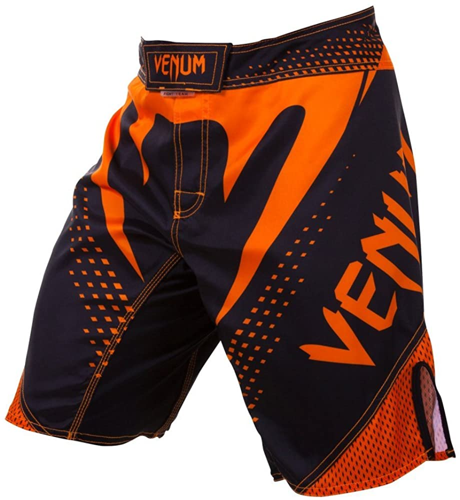 FIGHT SHORT VENUM HURRICANE NOIR/ORANGE