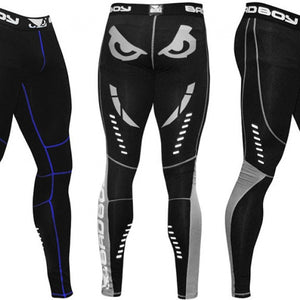 LEGGINGS COMPRESSION BAD BOY SPHÈRE BLACK/BLUE