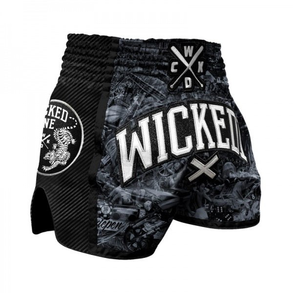 SHORT MULTI BOXE WICKED BORN TO RESIST