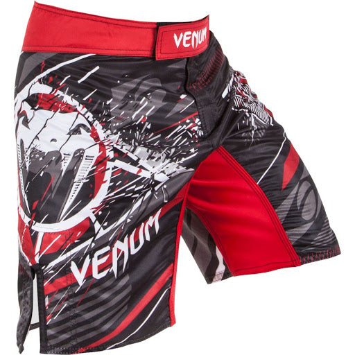 FIGHTSHORT VENUM ALL FLAGS NOIR/ROUGE