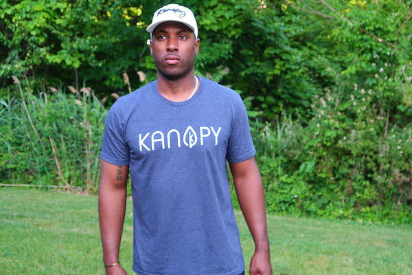 Kanopy Heather Navy T-Shirt