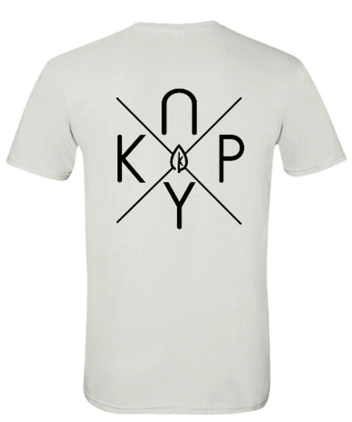 "Kanopy White ""X"" T-shirt"