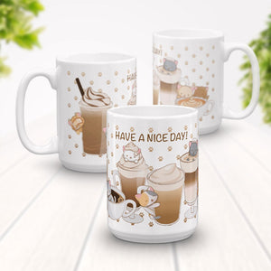 Cute mugs | Kawaii Designs by Irene Koh Studio