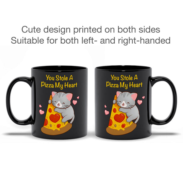 Cute Pizza Cat Kawaii Mug