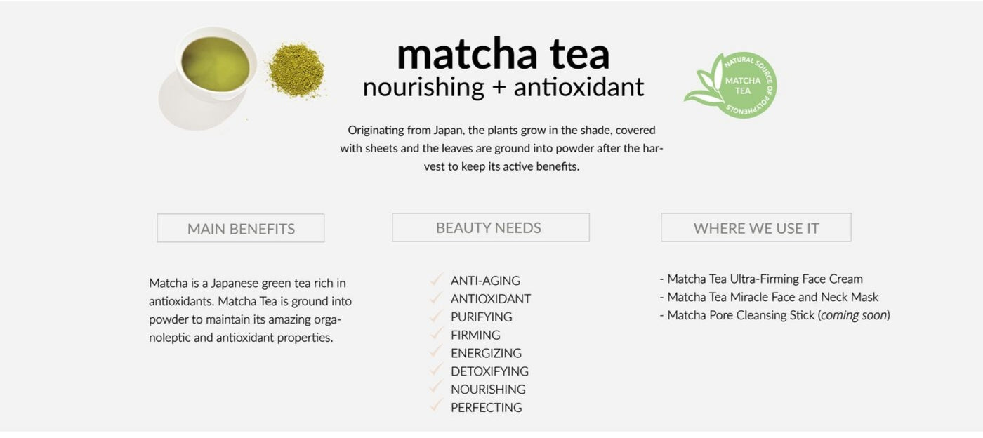 Matcha is a Japanese green tea that grows in the shade. Once harvested, it is ground into a powder in order to preserve its organoleptic and antioxidant properties.