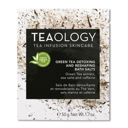 Green Tea Detoxing and Reshaping Bath Salts