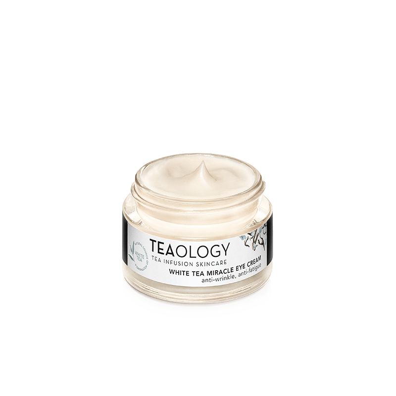 White Tea Miracle Eye Cream - Clean Beauty Vegan Cruelty-Free Skincare Tea infusion
