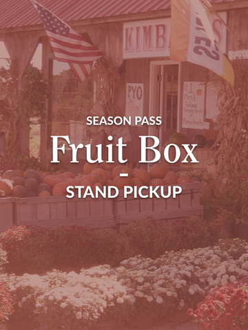 Fruit Box - Farm Stand Season Pass