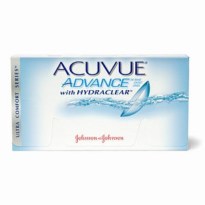 Acuvue Advance Contact Lenses 6 pack