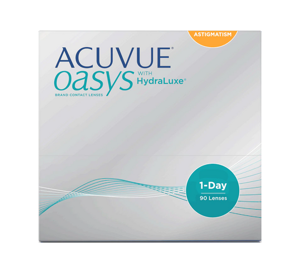 Acuvue Oasys 1-Day for Astigmatism 90-Pack Front