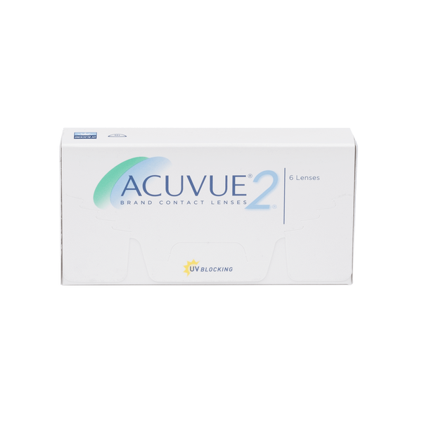 Acuvue 2  Contact Lenses Box - 6 Pack