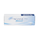 1-Day Acuvue Moist Contact Lenses 30 pack box