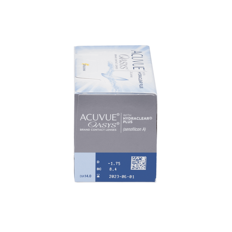 Acuvue Oasys with Hydraclear Plus Contact Lenses Prescription - 24 Pack
