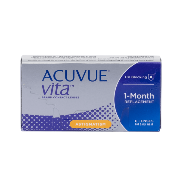 Acuvue Vita Astigmatism Contact Lenses Box - 6 Pack