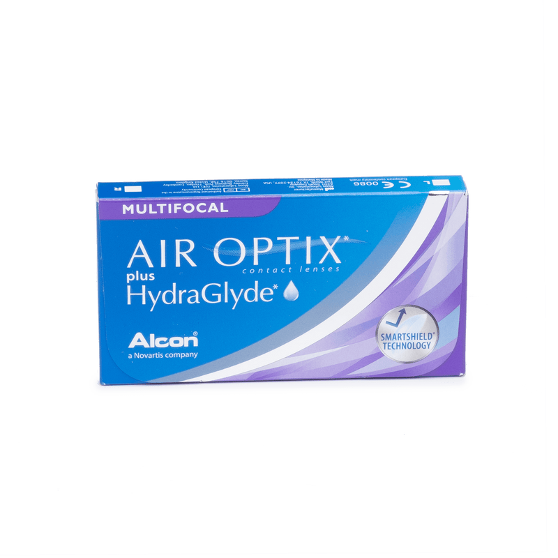 Air Optix plus HydraGlyde Multifocal - 6 Pack