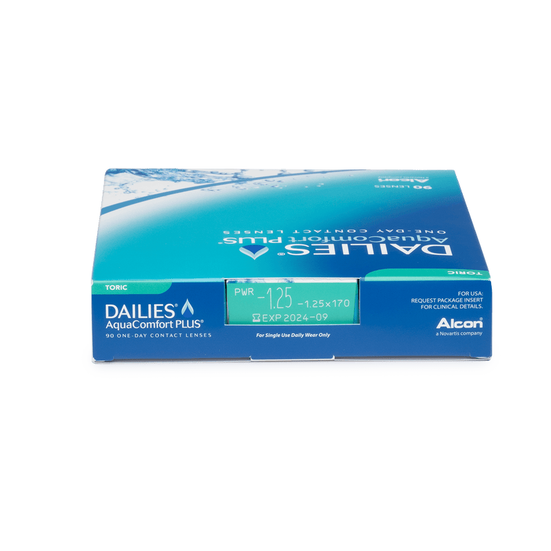 DAILIES AquaComfort Plus Toric - 90 pack