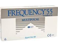 Frequency 55 Multifocal Contact Lenses 6 pack
