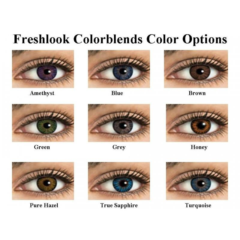 Freshlook Colorblends - 6 Pack