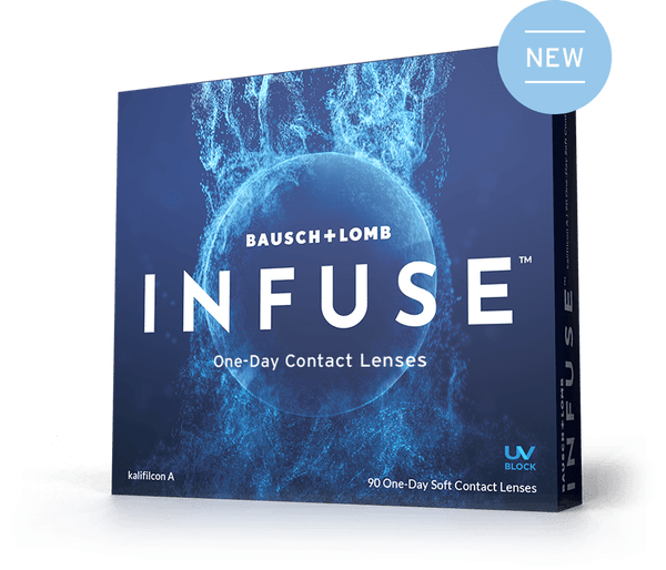 Infuse One Day Contact Lenses 90-Pack