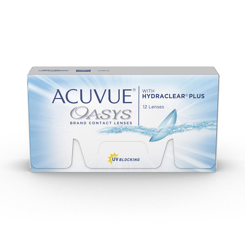 Acuvue Oasys with Hydraclear Plus Contact Lenses Box - 12 Pack