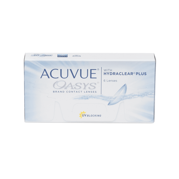 Acuvue Oasys with Hydraclear Plus Contact Lenses Box - 6 Pack