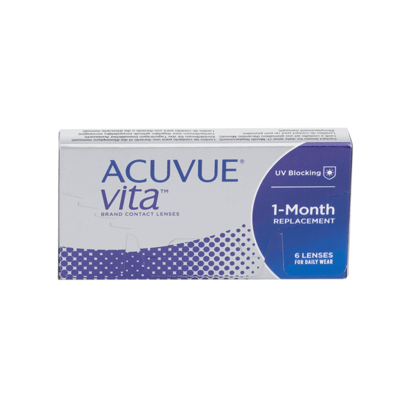 Acuvue Vita Contact Lenses Box - 6 Pack
