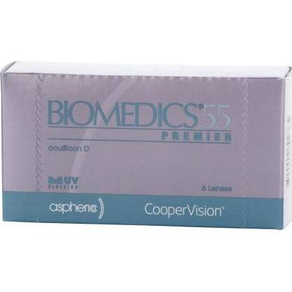 Previous Biomedics 55 Premier Contact Lenses Box - 6 Pack