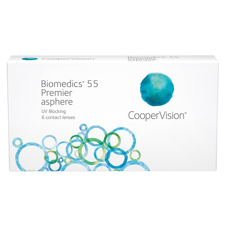 Biomedics 55 Premier Contact Lenses Box - 6 Pack