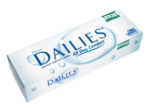 Focus Toric Dailies Contact Lenses 30 pack