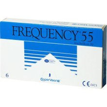 Frequency 55 Contact Lenses 6 pack