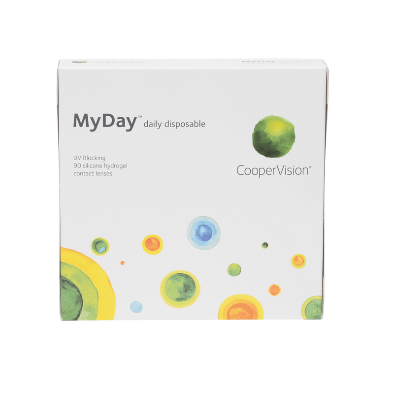 MyDay 1-Day Contact Lenses Box - 90 Pack