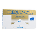 Frequency 55 Aspheric Contact Lenses Box - 6 Pack