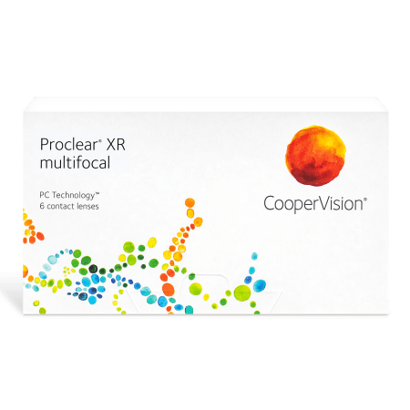 Proclear Multifocal XR Contact Lenses Box - 6 pack