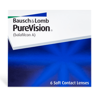 PureVision Contact Lenses Box - 6 Pack