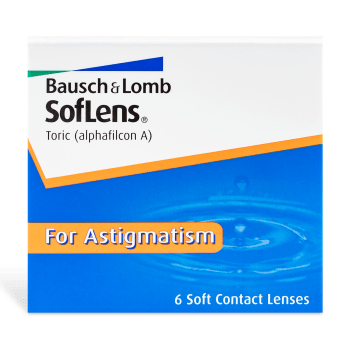 SofLens Toric Contact Lenses Box - 6 Pack