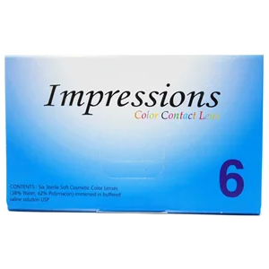 Impressions Color Contacts - 6 Pack