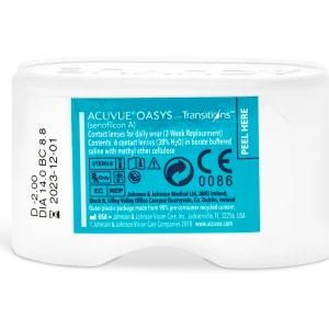 Acuvue Oasys with Transitions Contact Lenses Prescription - 6 Pack