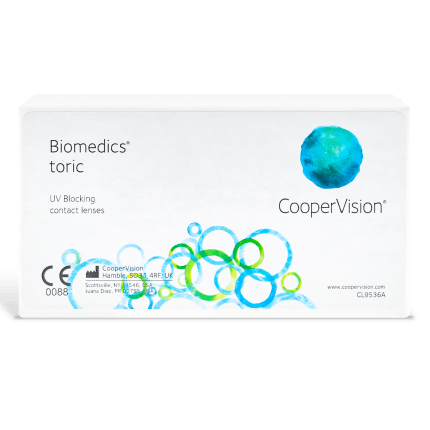 Biomedics Toric Contact Lenses Box - 6 Pack