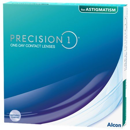 Precision 1 For Astigmatism Daily Contact Lens 90-Pack