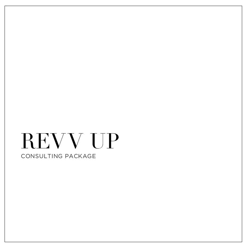 Revv Up - Consulting Package