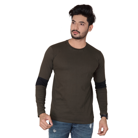 Round Neck Full Sleeve Premium T shirt