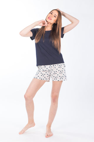 Women's Top & Shorts set