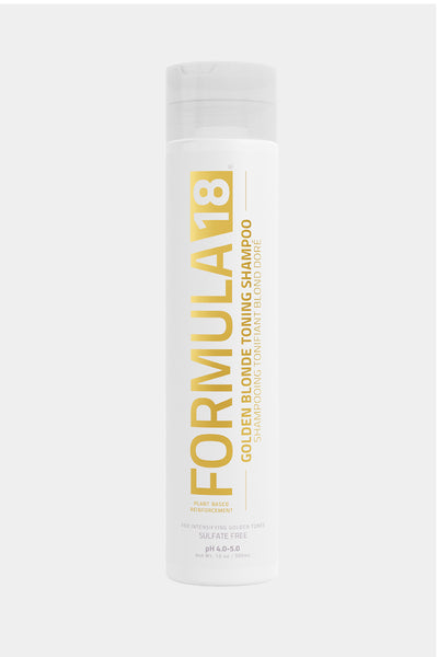Formula 18- Golden Blonde Toning Shampoo