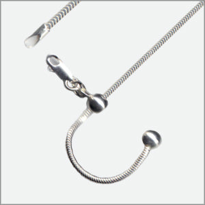 Adjustable 200 Snake Magic Ball Chain Sterling Silver
